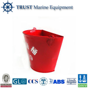 Iron Fire Bucket with 4 M Long Lanyard pictures & photos