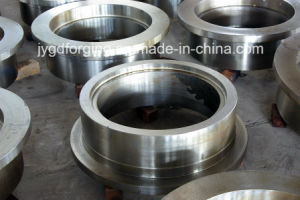 Forged 16mncr5 Steel Crane Wheel with Pinion Gear pictures & photos