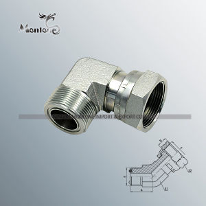 NPT Jic Bsp Standard Rubber Hydraulic Hose Fittings pictures & photos