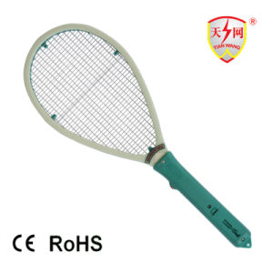 Battery Operated Electric Mosquito Swatter with Disinfection Function pictures & photos