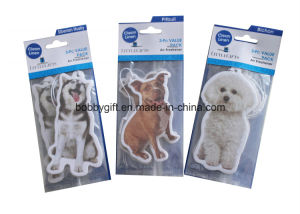 Animal Design Car Air Freshener with Card Packaging pictures & photos