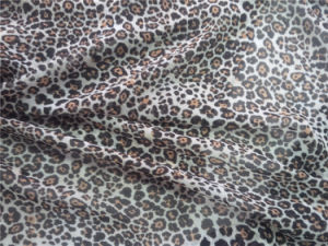 Polyester Chiffon Printing Fabric with Spandex pictures & photos