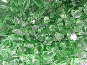 Green Crushed Glass Cullet pictures & photos