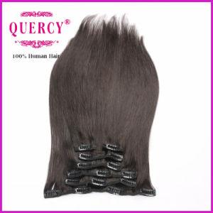 100% Human Virgin 22 Inches Brazilian Hair Clip Hair pictures & photos