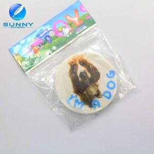 Cheap 2D Printed Eraser for Children, Round Shape Eraser pictures & photos