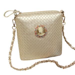 Gold Woman Handbag Tote Beach Bag (FW006)
