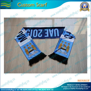 Spandex Knitted Polyester Scarf for Fans (T-NF19F10010) pictures & photos