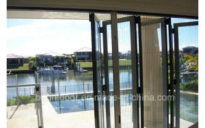 Aluminium Decorative Screen Glass Door Design/Aluminum Door Frame pictures & photos