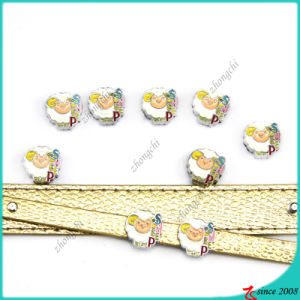 Lovely Sheep Slide Charms for Jewelry Charms (SC16040927)