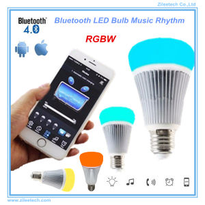 Bluetooth LED Light E27 Dimmable RGBW