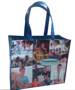 Promotional BOPP Laminated Non Woven Grocery Bag pictures & photos