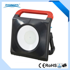 Portable 50W LED Work Light with 2 Outlet Sockets pictures & photos
