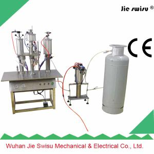 Decoration Artificial Canned Snow Spray Filling Machine