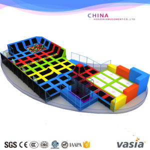 Children Trampoline Indoor Trampoline for Equipment Playgraound pictures & photos