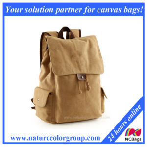 Retro Canvas Laptop School Backpack College Bag pictures & photos