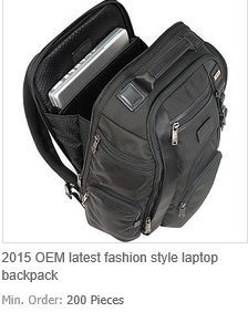 OEM Latest Fashion Style Laptop Backpack Sports Backpack