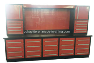 Popular Steel Garage Work Benches with Pegboard pictures & photos