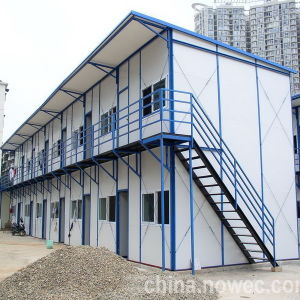 Environmental Prefabricated Building Light Steel Framework pictures & photos