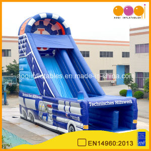 Giant Car Style Inflatable High Slide for Kids (AQ1130-1) pictures & photos