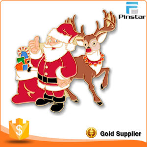 Manufacturer of Custom Badge Christmas Series Christmas Custom Metal Arts and Crafts pictures & photos