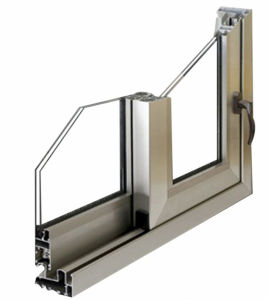 Constmart Latest Aluminium Sliding Window Price List with Mosquito Net pictures & photos