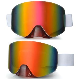 High Quality Design Ski Goggle with Revo Lens pictures & photos
