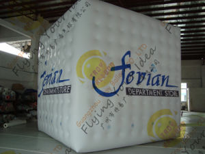 Inflatable Square Balloon Cube for Advertising