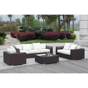 Commercial Outdoor Rattan Sofa Set (WS-06015) pictures & photos