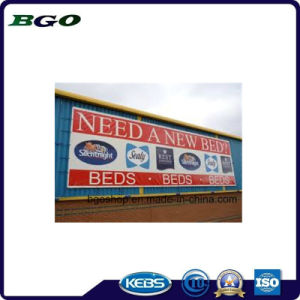 Frontlit PVC Flex Banner Advertising Printing Canvas (840dx840d 9X9 440g) pictures & photos