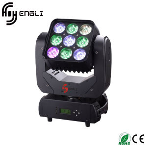 9PCS LED Moving Head Matrix Light (HL-001MB) pictures & photos