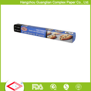 FDA Approved Vegetable Siliconized Baking Cooking Paper in Oven pictures & photos