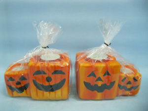 Halloween Candle Shape Ceramic Crafts (LOE2370-12z) pictures & photos