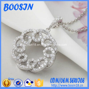 Factory High Quality Silver Necklace Jewelry for Wedding pictures & photos