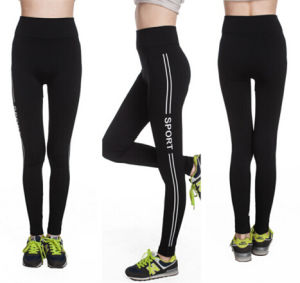 High Quality Gym Fitness Workout Printed Pants (83831-1) pictures & photos