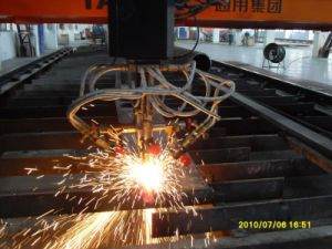 Triple Torch Beveling Cutting Machine pictures & photos