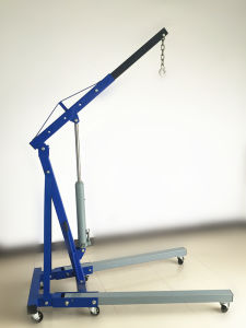 1 Ton Folding Engine Crane with Ce Approval pictures & photos