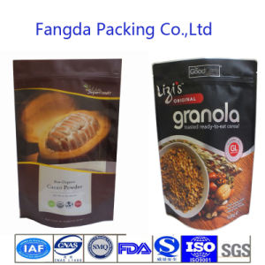 Good Quality Ziplock Stand up Nature Food Bag