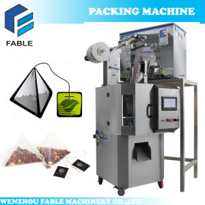 Triangle Bag Tea Packing Machine for Rose Black Tea pictures & photos