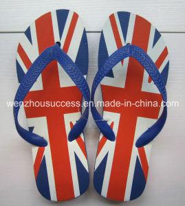 Men′s Rubber Sandal Slipper Comfortable Shower Beach Shoe Slip on Flip Flop pictures & photos