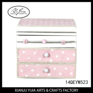 Lovely Pink Jewelry Box for Ring Necklace Bracelet Set Earring pictures & photos