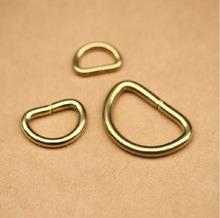 D Ring Pure Brass Hook Dee Loop Buckle Handbag Hardware Findings Belt pictures & photos