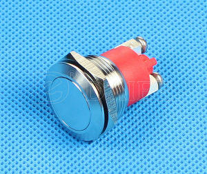 19mm IP68 Waterproof Screw Metal Push Button Switch (GQ-19B/H/F) pictures & photos