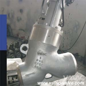 Cast Steel Y Type Globe Valve Supplier pictures & photos