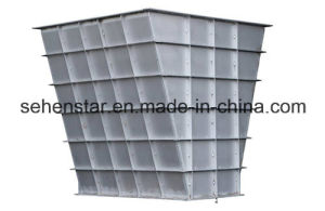 Powder Flow Cooling Heating Dedicated Heat Exchanger Particle Cooler pictures & photos
