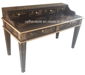 Chinoiserie Hand Painted Villa Hotel Furniture Office Home Desk