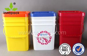 1 Gallon 2 Gallon 3 Gallon 5 Gallon Square Plastic Bucket Pail pictures & photos
