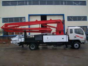 Concrete Boom Pump Truck Sn5216thb 21 pictures & photos