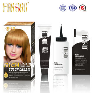Home Used Healthy Moisturizing Shiny Rich Hair Color