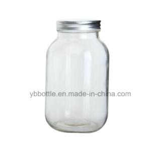Mason Jar, Coconut Oil Jar W/Gold Lid for Gift