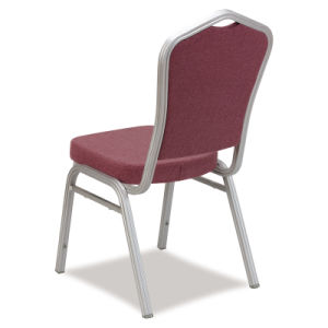 Foshan Factory Comfortable Stackable Metal Hotel Banquet Chair (CY-8004) pictures & photos